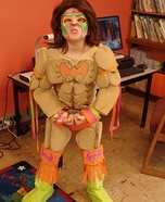 Ultimate Warrior Homemade Costume