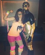 Ultimate Warrior and Goldust Homemade Costume