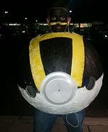 Ultra Pokeball Homemade Costume