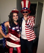 Uncle Sam and The 'Erican Dream Homemade Costume