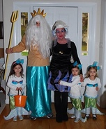 Under the Sea Homemade Costume