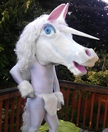 Unicorn Halloween Costume for Adults