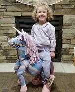 Unicorn Rider Homemade Costume