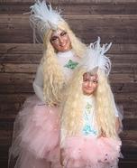 Unicorn Twinsies Homemade Costume