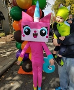 Unikitty from The Lego Movie Homemade Costume
