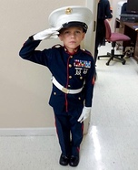 United States Marine Homemade Costume