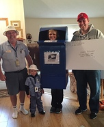 United States Postal Service Homemade Costume