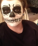 Unknown Skeleton Homemade Costume