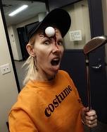 Unlucky Golf Player Homemade Costume