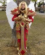 Unmasked Kayle Homemade Costume