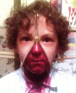 Zipper face costume ideas - Unzipped Zipperface Halloween Costume