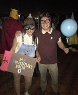 UP Couple Homemade Costume