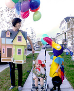 Family costume ideas - Up! Family Costume