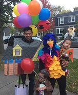 UP Family Homemade Costume