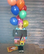 Up up and Away Homemade Costume