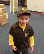 UPS Delivery Boy Homemade Costume