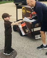 UPS Delivery Man Homemade Costume