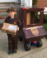 UPS Driver Homemade Costume