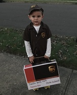 UPS Man Homemade Costume