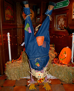 Illusion costume ideas - Upside Down Scarecrow