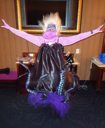 Ursula Homemade Halloween Costume