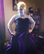 Homemade Ursula Costume
