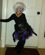 Creative DIY Ursula Costume for Girls