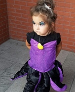 Ursula Baby Homemade Costume