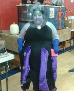 Ursula from Little Mermaid Homemade Costume