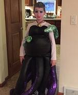 Ursula Homemade Costume for Girls