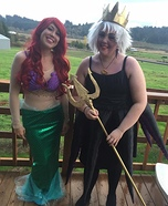 Ursula & Ariel Homemade Costume