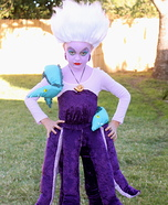 Halloween costume ideas for girls: Ursula The Sea Witch Costume