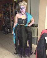 Ursula the Sea Witch Homemade Costume