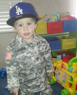 U.S. Army Soldier Baby Homemade Costume