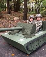 US Army Soldiers Homemade Costume