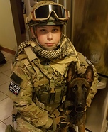 US Service Men Homemade Costume