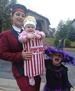 Usher with Popcorn Homemade Costume