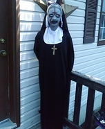 Valak The Nun Homemade Costume