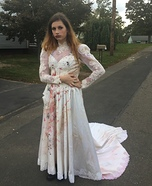 Vampire Bride Homemade Costume