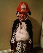 Vampire Fire Dog Homemade Costume