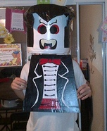 Vampire Lego Man Costume