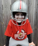 Vampire Ohio State Player Homemade Costume