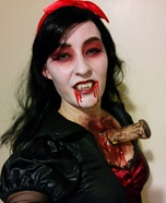 Vampire with Stake through Chest Homemade Costume