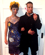 Couples Halloween costume idea: Van Gogh and his Masterpiece