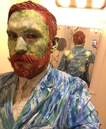 Van Gogh's Self Portrait Homemade Costume