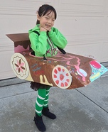 Halloween costume ideas for girls: Vanellope from Wreck-It Ralph Homemade Costume