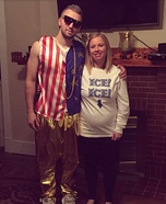 Vanilla Ice and Ice Ice Baby Homemade Costume