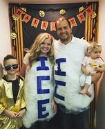 Vanilla Ice and Ice, Ice baby Homemade Costume
