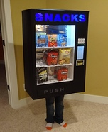 Vending Machine Homemade Costume