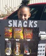 Snacks Vending Machine Costume DIY